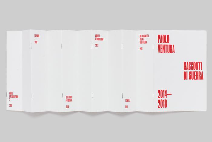 Paolo Ventura, Racconti di Guerra 2014–2018 6