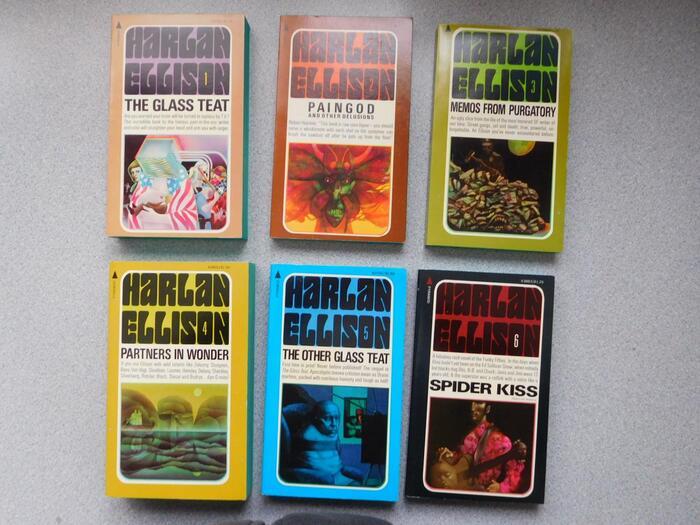 Harlan Ellison book series (Pyramid Books) 1