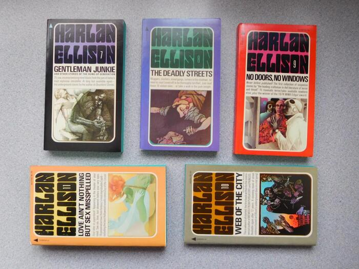 Harlan Ellison book series (Pyramid Books) 2