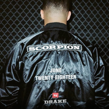 Drake's <cite>Scorpion</cite> jacket and billboards