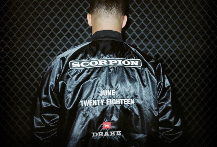 Drake's Scorpion jacket and billboards 2