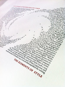 "Illustration and letterpress print for ""The English Wars"", <cite>The New Yorker</cite>"
