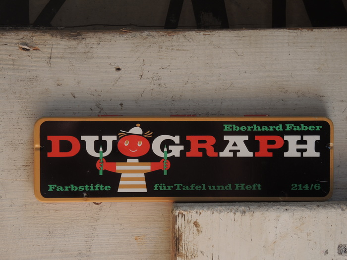 Duograph colored pencils by Eberhard Faber 1