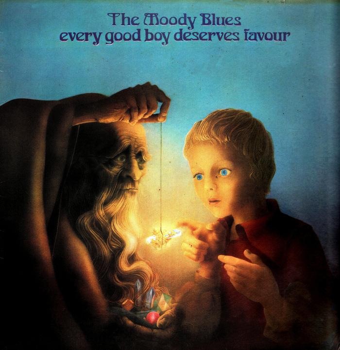The Moody Blues – Every Good Boy Deserves Favour album art 1