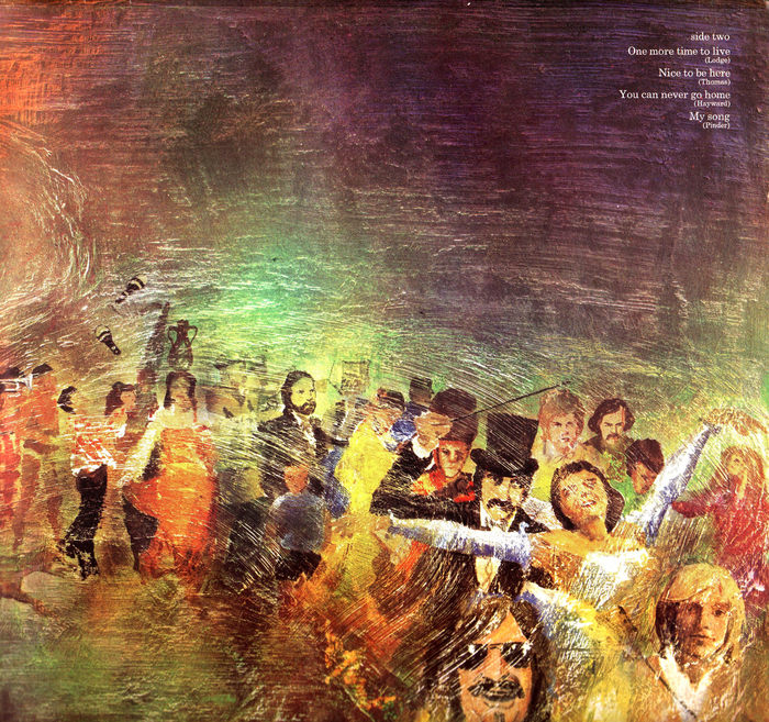 The Moody Blues – Every Good Boy Deserves Favour album art 3