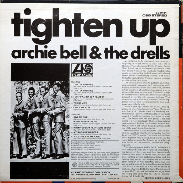 Tighten Up – Archie Bell & The Drells 2