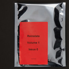 <cite>Reinstate</cite> magazine, Vol. 1, issue 0