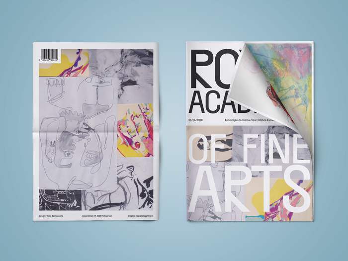 Royal Academy of Fine Arts newspaper 1
