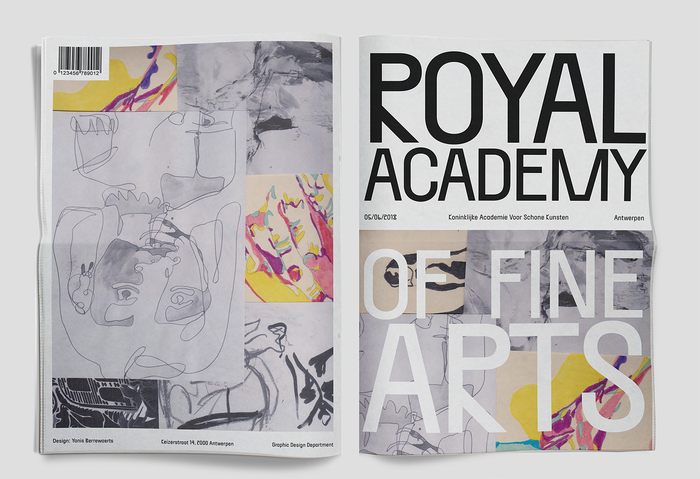 Royal Academy of Fine Arts newspaper 4