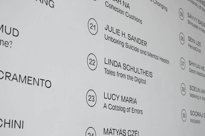 Central Saint Martins MA Graphic Communication Design degree show 2018 2