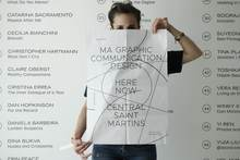 Central Saint Martins MA Graphic Communication Design degree show 2018