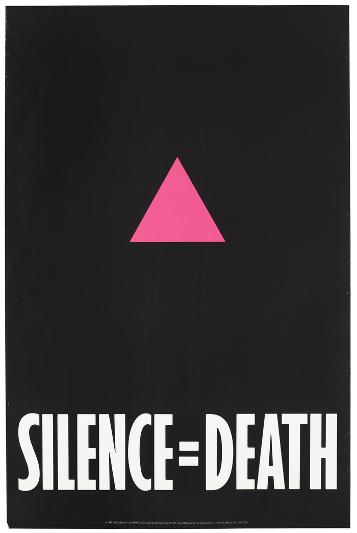 Silence=Death poster
