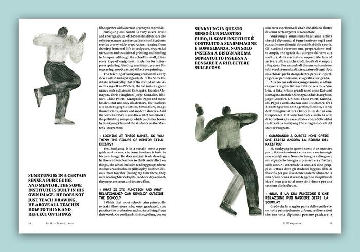 ILIT magazine no. 10, Cover story 5