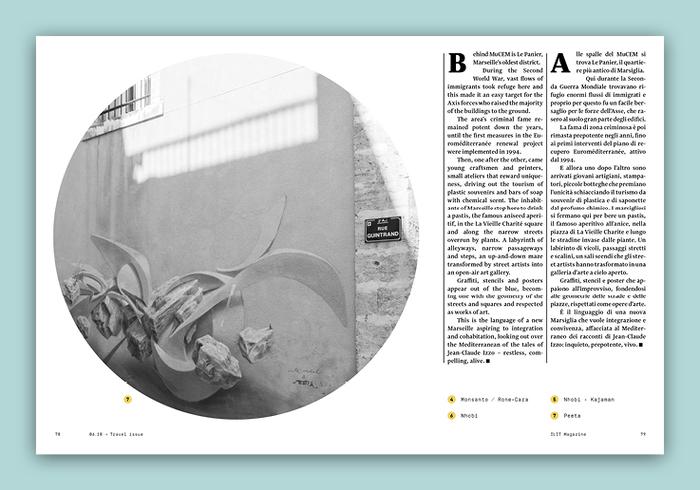 ILIT magazine no. 10, Cover story 14