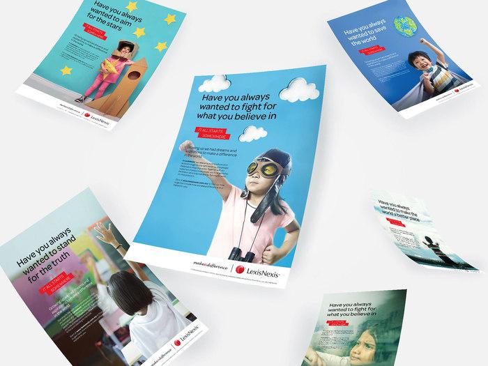 Corporate print ad series, LexisNexis Malaysia