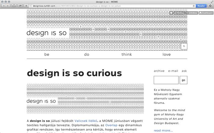 """design is so"" blog 4"