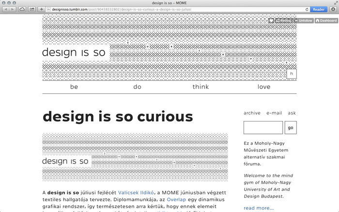 """design is so"" blog 4"
