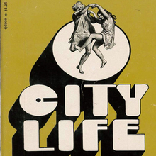 <cite>City Life</cite> by Donald Barthelme (Bantam)