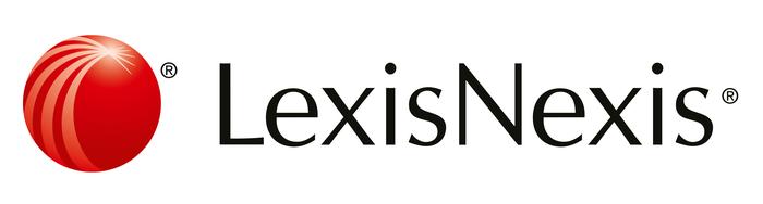 The LexisNexis logo is in Optima.