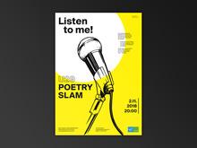 U20 Poetry Slam poster