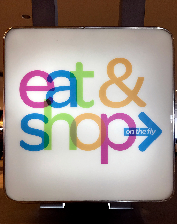 Eat & Shop on the Fly, Sea-Tac Airport 1