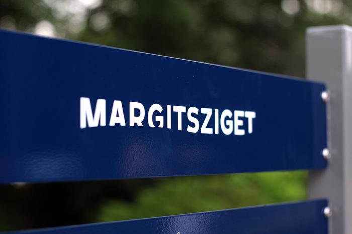 Margaret Island wayfinding system 1