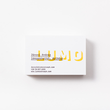 LUMO business cards