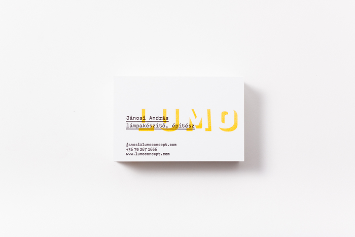 LUMO business cards 1