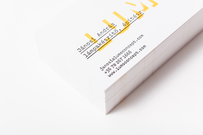 LUMO business cards 2