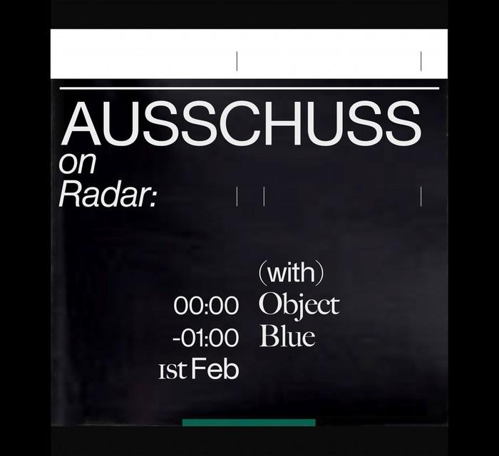 Radar Radio show by DJ Ausschuss 2