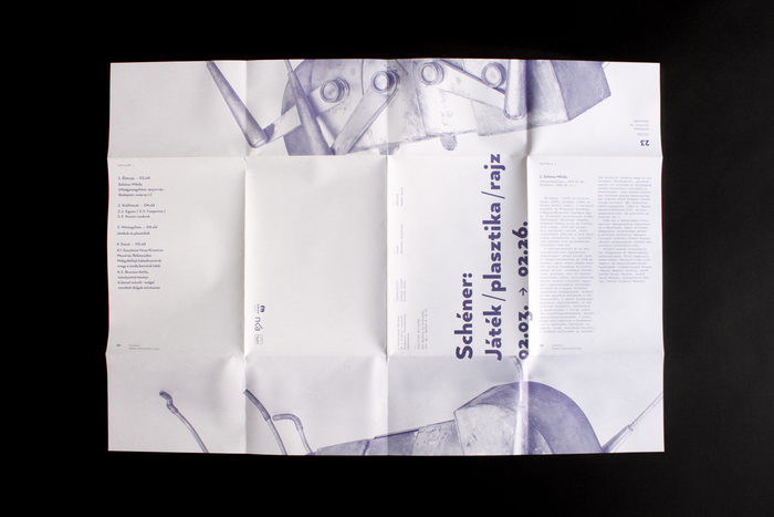 Schéner exhibition catalog and toy 6