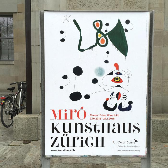 """""""Joan Miró. Wall, Frieze, Mural"""", Kunsthaus Zürich 4"""