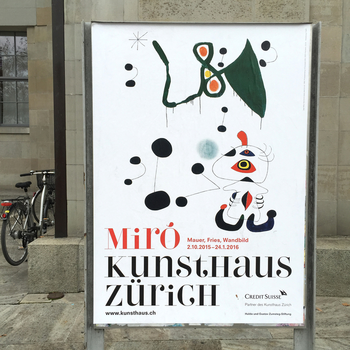 """Joan Miró. Wall, Frieze, Mural"", Kunsthaus Zürich 4"