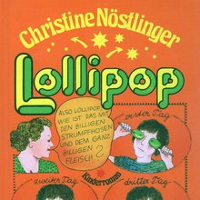 <cite>Lollipop – </cite>Christine Nöstlinger