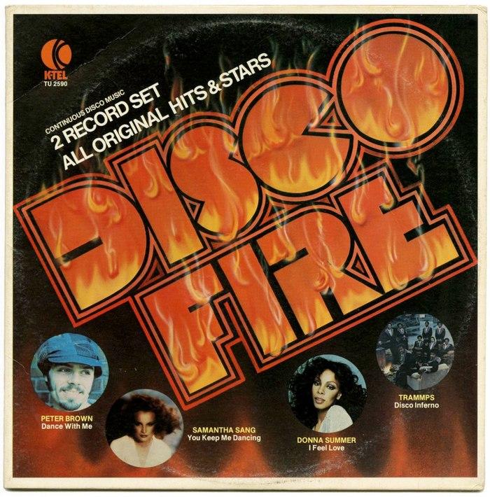 Disco Fire, K-Tel 1