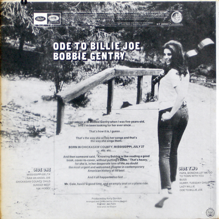 Bobbie Gentry – Ode to Billie Joe 2