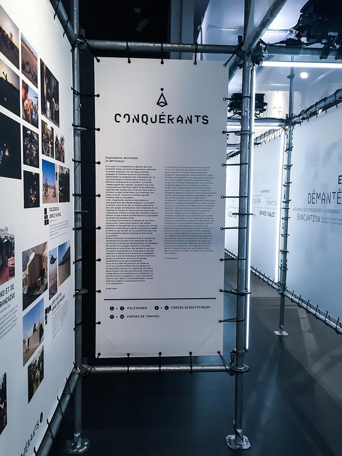 Habiter le campement exhibition 9