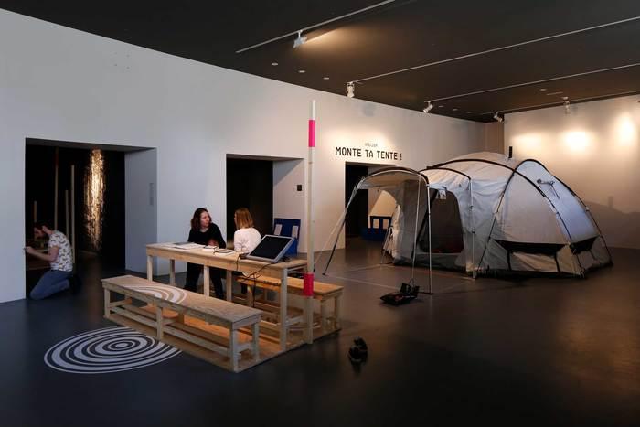 Habiter le campement exhibition 11