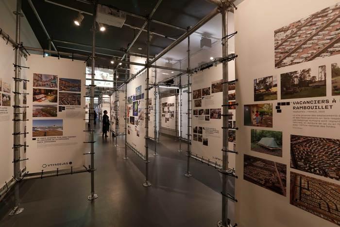 Habiter le campement exhibition 4