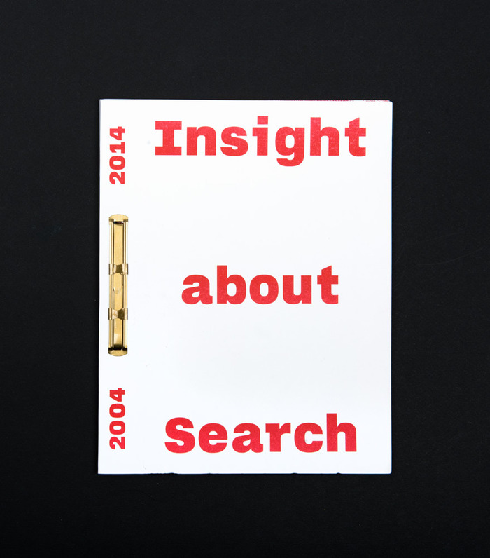 Insight about Search. 2004–2014.