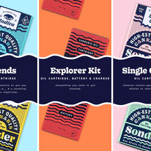 Sonder web and packaging