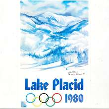 Lake Placid 1980 Olympic Winter Games poster