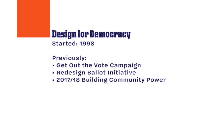 Design for Democracy slides 2