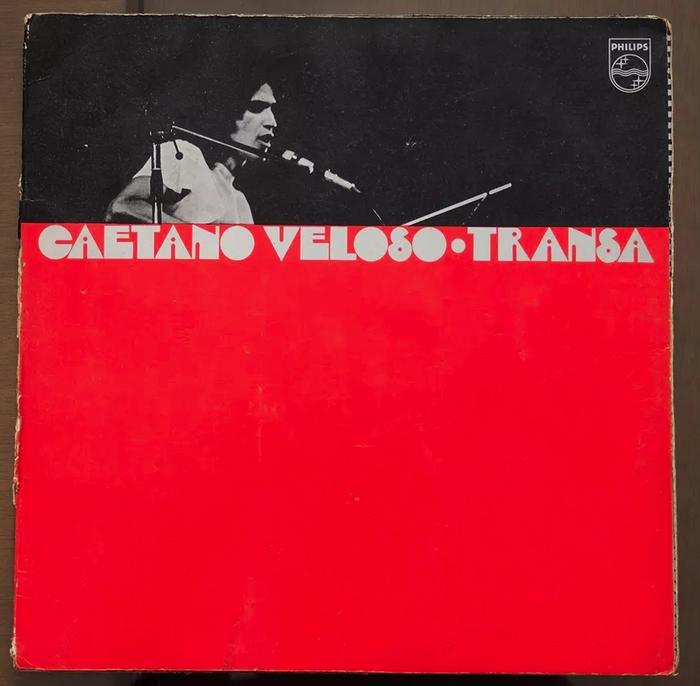 Caetano Veloso – Transa album art