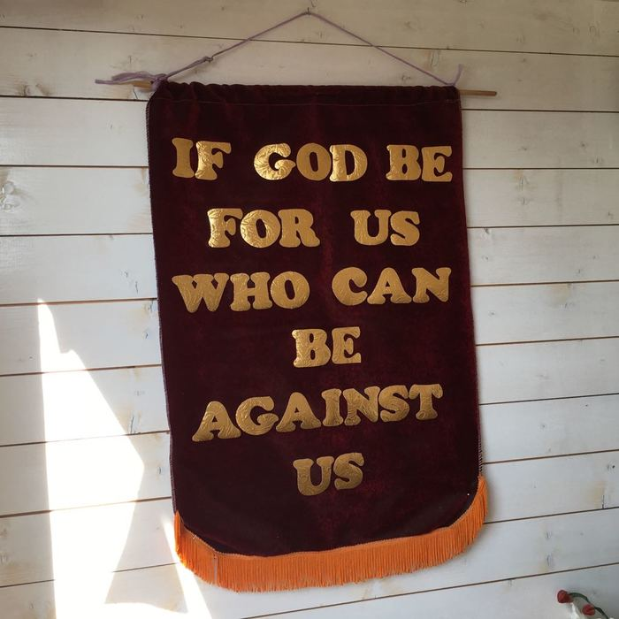 If God be for us who can be against us 1