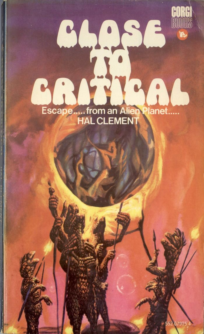 Close To Critical by Hal Clement (Corgi Books) 1