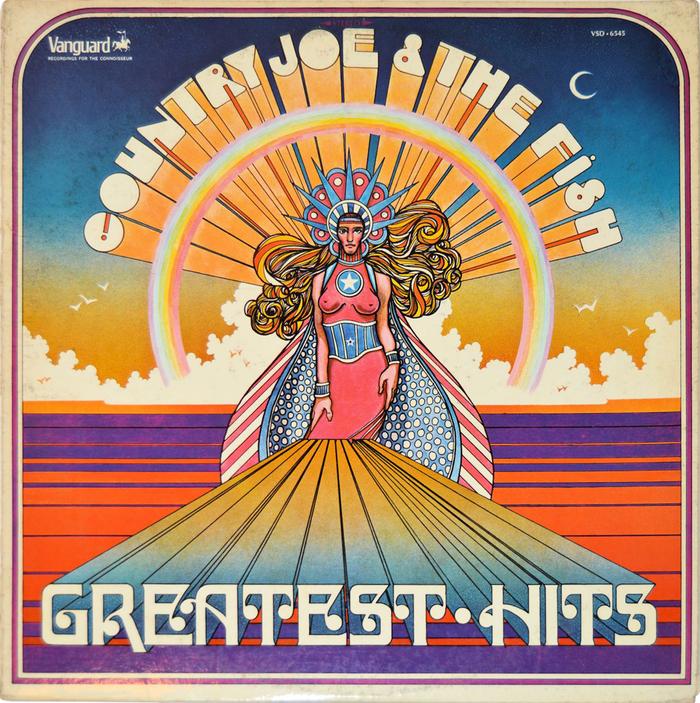 Country Joe & The Fish – Greatest Hits album art 1
