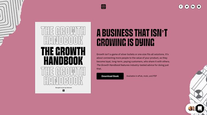 The Growth Handbook by Intercom 1