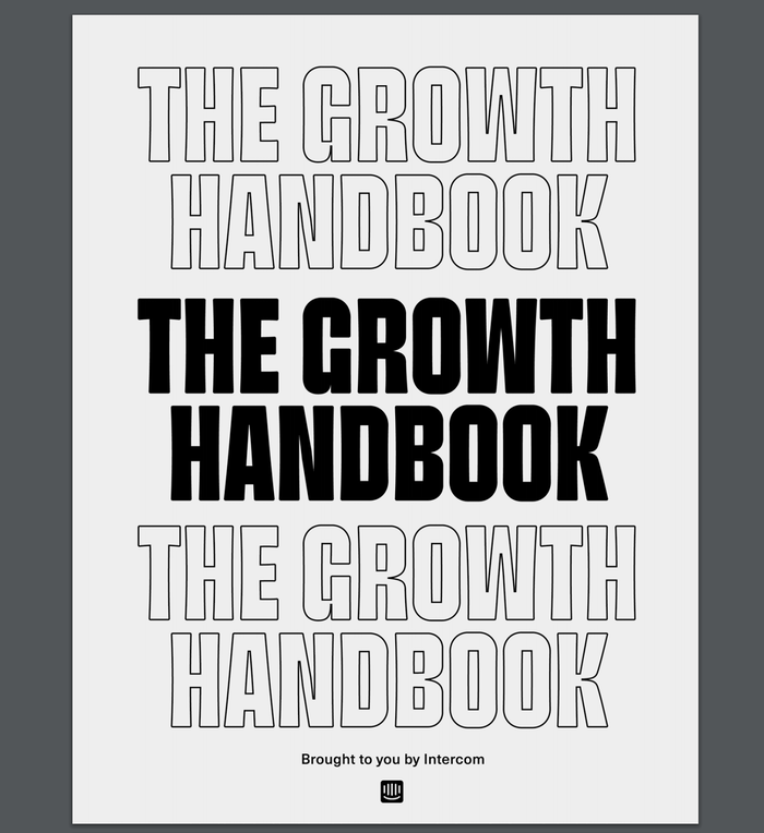 The Growth Handbook by Intercom 2