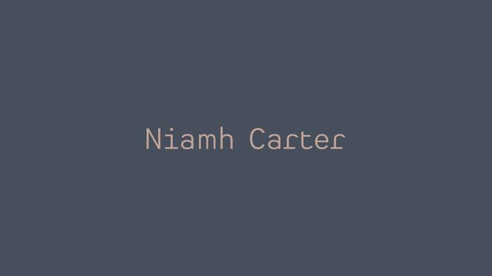 Niamh Carter 1